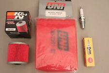 Kawasaki KLF300 Bayou Tune Up Kit NGK K&N Oil Uni Air Filter KLF 300 4X4 88/98