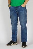 Levi's 501 Original fit Straight leg Vedat Herren indigo blau Jeans 36/30