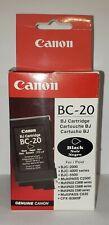 New Canon BC-20 Black BubbleJet Cartridge F45-0561-410