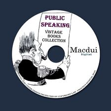 Public Speaking, How to talk – Vintage Collection 85 PDF E-Books 1 DVD Courage