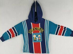 Vintage Peanuts Snoopy Baseball Kids Youth size 5 Shirt sweatshirt hoodie USA