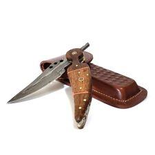 Falcon Blade Slash-12 damascus camping tracker pocket folder knife 9 Inch
