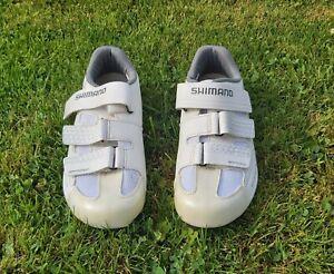 Shimano RP2W Womens Road Cycling Biking Shoes White EU 39 UK 6
