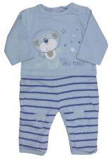 Ropa azul de 100% algodón para niños de 0 a 24 meses