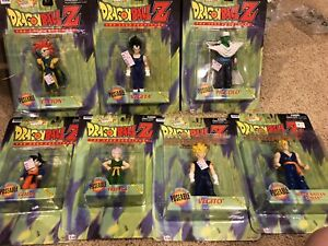 Dragon Ball Z  Series 5 Irwin 1999 SET Rare 7 Figures Dragonball MOMC New