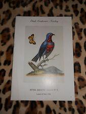 Autographes – Curiosa – Ornithologie – Régionalisme - Drouot, 1986 - Couturier