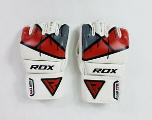 RDX Gloves Size S MMA Martial Arts Sparring Fingerless D Cut Open Palm Fast Post