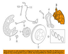 Mercedes MERCEDES-BENZ OEM 2015 C300 Front Brake-Disc Caliper 2054210481