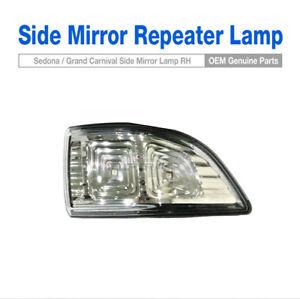 OEM Parts Side LED Mirror Repeater Lamp Assy RH For KIA 2011-14 Sedona Carnival