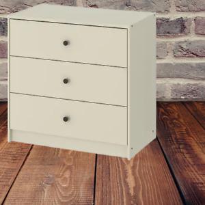 *New* GURSKEN Chest of 3 drawers, light beige 69x67 cm 004.863.27 *Brand IKEA*