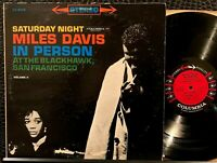 Miles Davis Saturday Night In Person Blackhawk Vol. 2 Vinyl LP Columbia CS 8470