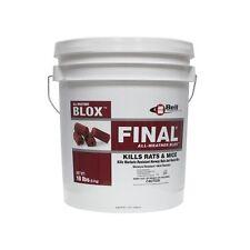 Final Blox Rat & Mouse Bait 1 - 18# Pail Bell Labs FB1018