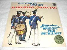 """Edo de Waart/Rotterdam """"Beethoven/Mozart:Marching & Dancing"""" 1970's LP,SEALED!"""