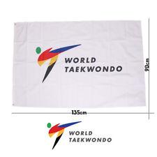 Taekwondo Korea Flag WTF Gym Uniform Dobok Bag TKD World Tae Kwon Do Federation