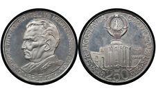 250 Dinara 1978 Yugoslavia Silver Coin / Mediterranean Games Josip Tito / # 68
