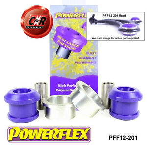 PFF12-201 Powerflex Fits Citroen C3 Pluriel (2003 - 2010) Front Arm Rear Bushes
