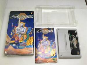Super Famicom SNES ActRaiser ENIX Used Operation confirmed with BOX