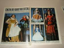 CINZIA DE CAROLIS attrice actress clipping articolo foto photo 1972