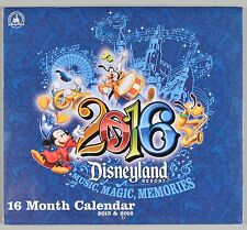 Disneyland Resort 16 Month Calendar 2015 1016 New Sealed Theme Park Collectible