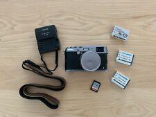 Fujifilm X100S 16.3MP Digital Camera - Silver - with extras