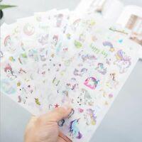 P1564 Reading//Study Unicorn Planner Stickers