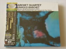 Barchet Quartet Bethoven J.S.Bach 2 SACD Hybrid TOWER RECORDS JAPAN