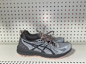 Asics Frequent Trail Womens Athletic Trail Running Shoes Size 8.5 WIDE Gray Pink