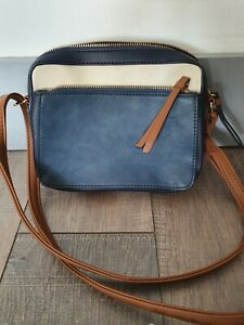 M&Co Faux Leather Cross Body/Shoulder Bag