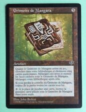 MTG MAGIC Carte GRIMOIRE DE MANGARA Ext. MIRAGE 1996