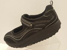 Skechers Shape-Ups Black Athletic Sneakers Shoes Model 11807 Womens Size 8.5