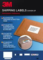 3M Etiketten Versandetiketten Blickdicht Weiß Selbstklebend 100 Blatt