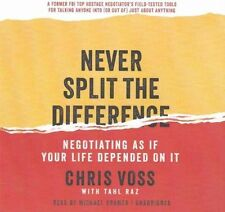 Never Split the Difference: Negotiating If Your Life Depended on It - MP3 Audio