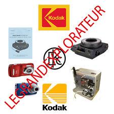 Ultimate  Kodak  repair parts and service manuals  (70 PDFs manual s on DVD)