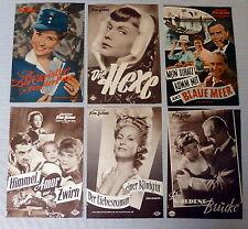 6 IFB-FILMPROGRAMME * NATIONAL - KONVOLUT - SAMMLUNG - 50er-Jahre