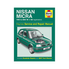 Nissan Micra 1.0 1.3 1.4 Petrol 1993-02 (K to 52 Reg) Haynes Manual