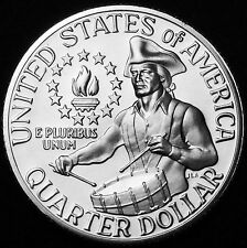 1776 1976  S Washington Bicentennial Quarter ~ From 1975 US Mint Proof Set