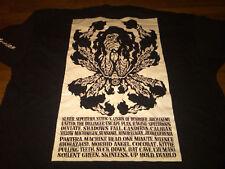 New XL shirt from last PANTERA show ever @ Beast Feast 2001; Vinnie Paul Dimebag