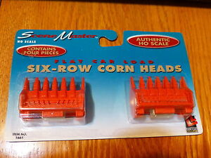 Life Like HO #433-1661 (Six-Row Corn Heads) 2 (Flat Car Load) SceneMaster