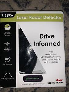 Whistler Z-19R+ Laser Radar Detector BRAND NEW