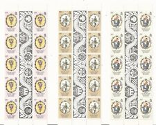 Falkland Islands: Scott 324-326 in sheet of 10-Label, thematic Lady D. FA01