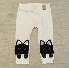 NEW Cotton On Kids Baby Girls Kitty Cat Pants Size 18-24months