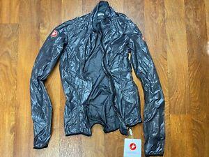 Castelli Aria Shell Jacket - Women's size S Grey