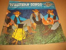 "BILL SHEPHERD ORCHESTRA "" WESTERN SONGS "" 7"" SINGLE BLUE VINYL 1962 VG/VG"