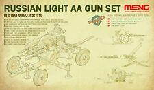 Meng Model 1/35 SPS-026 Russina Light AA Gun Set