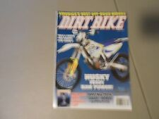 APRIL 2014 DIRT BIKE MAGAZINE,HUSKY FE501,KTM 350XC-F,DAKAR,WORCS,SUPERCROSS,AMA