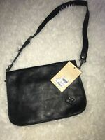 Patricia Nash Vito Smooth Leather Flap (Black) P187120