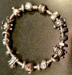 Pandora Charm Bracelet Charms Sterling Silver 925 Vintage