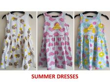 BABY GIRL KIDS GIRLS SLEEVELESS DRESS FLORAL HEARTS SMART DRESSES