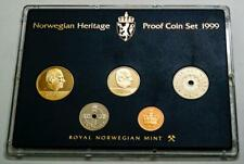 1999 Norway Classic Uncirculated Coin Set