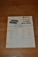 Hitachi TRQ-262D (A, W) stereo cassette player Genuine Service Manual